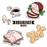 Объект завтрака Стоковые Фото