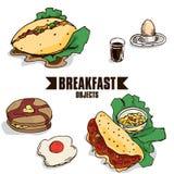 Объект завтрака Стоковые Фотографии RF