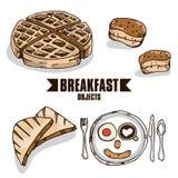 Объект завтрака Стоковые Изображения RF