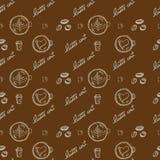 Объект кофе картины Стоковое фото RF