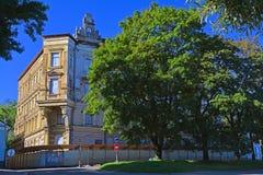Объект дома культурного наследия v Hakman в Выборге, России Стоковые Фото