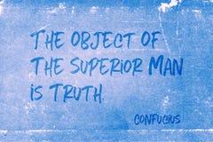 Объект правда Конфуций стоковые фото