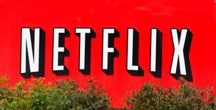 Объект Netflix в Кремниевой долине Стоковое Изображение