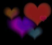 Объединенные заботя сердца семьи Стоковое Изображение RF