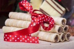 Объединенные печенья и шоколады Стоковое фото RF