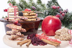 Объединенные печенья и шоколады Стоковое Изображение