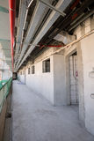 Объединенные эмираты, Дубай, 06/07/2015, строительная площадка на ладони, Дубай развития гостиницы наместника Стоковые Фотографии RF