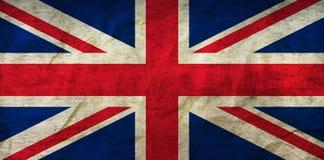 Объединенный флаг Kindgom на бумаге Стоковое Фото