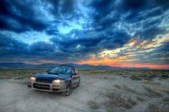 объявление все колесо привода автомобиля Стоковое Фото