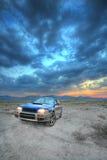объявление все колесо привода автомобиля Стоковые Изображения RF