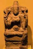 ОБЪЯВЛЕНИЕ девятого века камня песка Chaturbhuja Vaishnavi стоковая фотография