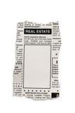 Объявление недвижимости стоковое изображение