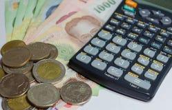Объяснение, финансы и вклад Стоковые Изображения