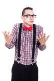 Объяснять человека болвана Стоковая Фотография RF