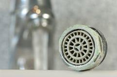 обызвествлянная сетка faucet Стоковые Фото