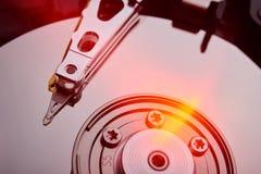Обычный дисковод жесткого диска компьютера Стоковые Фотографии RF
