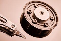 Обычный дисковод жесткого диска компьютера Стоковые Фото
