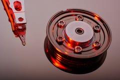 Обычный дисковод жесткого диска компьютера Стоковая Фотография