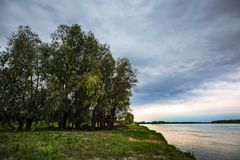 Обь Западное Сибирь стоковые фото