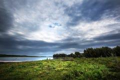Обь Западное Сибирь стоковое изображение rf