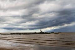 Облака взморья Стоковые Фотографии RF