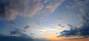 Облака восхода солнца Стоковые Фото