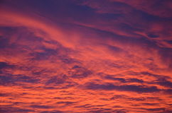 Облака восхода солнца стоковое изображение rf