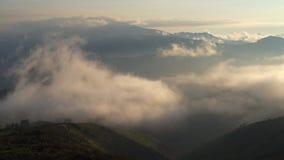 Облака в Кито эквадоре сток-видео