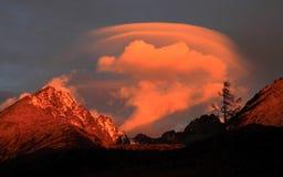Облака в утре Стоковое фото RF