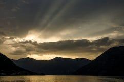 Облака в Черногории Стоковые Фотографии RF