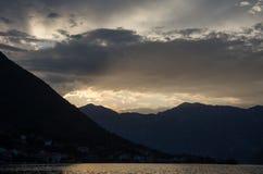 Облака в Черногории Стоковое Изображение