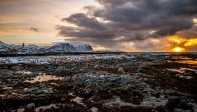 Облака в Andoy Стоковое фото RF