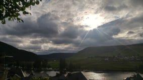 Облака в Belstein Стоковое Изображение