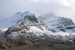 Облака горы Athabasca Стоковая Фотография