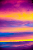 Облака Греции стоковые фотографии rf