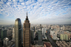 Облака Гуанчжоу Стоковые Фотографии RF