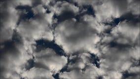 Облака лета Берлина, Германия видеоматериал