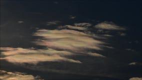 Облака лета Берлина, Германия акции видеоматериалы