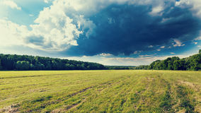 Облака лета Стоковое Изображение