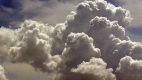 Облака лета сток-видео
