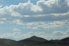 Облака завальцовки Стоковые Изображения