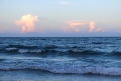 Облака захода солнца Стоковые Изображения RF
