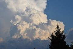 Облака земли Стоковая Фотография RF