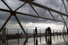 Облака и вода Стоковая Фотография