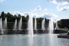 Облака и вода Стоковое Изображение RF