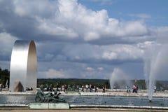 Облака и вода Стоковые Изображения RF
