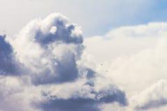 Облака и небо на солнечный день Стоковые Фотографии RF