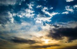 Облака и небо Стоковое Изображение RF