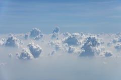 Облака и текстура неба Стоковые Изображения