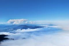 Облака и туман Стоковые Изображения RF